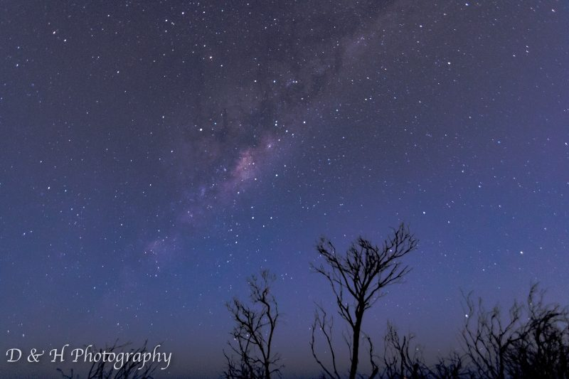 astrophotography at North Heads