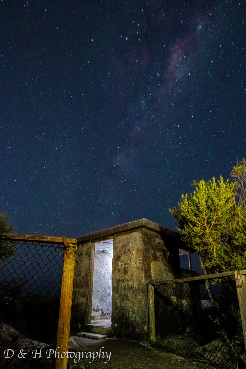 astrophotography - Manly North Heads Milky Way