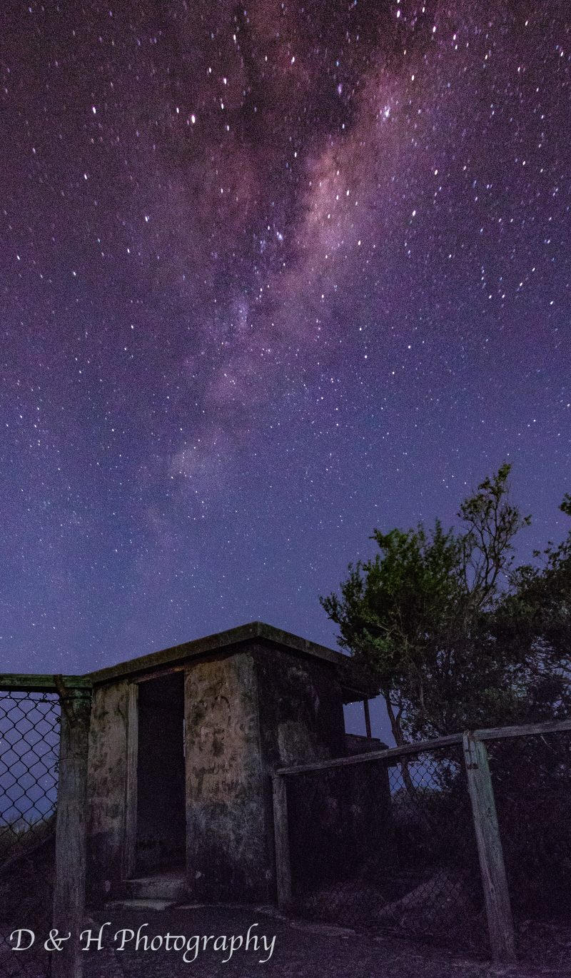 Astrophotography at North Heads Sydney