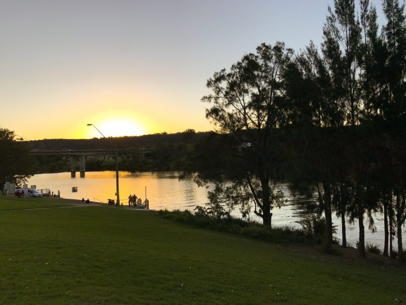 sunset in Penrith