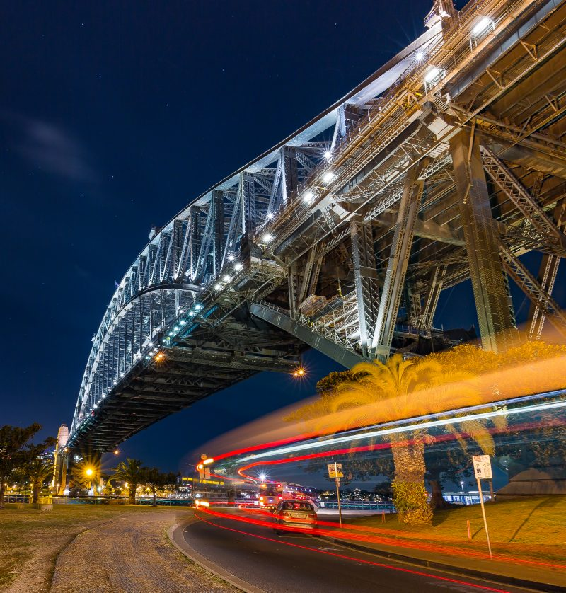 Night Trails - Sydney Harbour